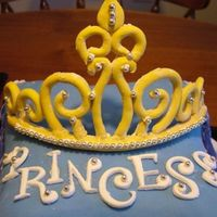 Gumpaste Tiara My first gumpaste/fondant Tiara. I was very happy with the outcome.