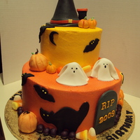 Birthday Halloween Cake Halloween Birthday Cake