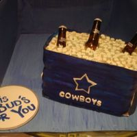 Dallas Cowboys Budweiser Cooler
