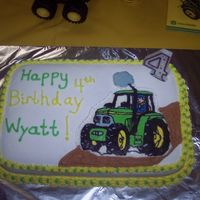 Tractor Cake  This was my first attempt at a FBCT! I was very happy with the way it turned out! However, being my first I wasn't sure about some...
