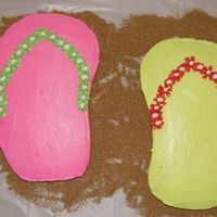 Dsc06799.jpg THis Cake is for my olderst daughter's 10th birthday. The theme of the party was flip-flops.