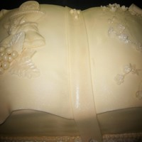White Chocolate Fondant 1St Communion Cake