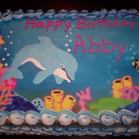Dolphin Fun FBCT..... I love the way this came our, so bright and hppy