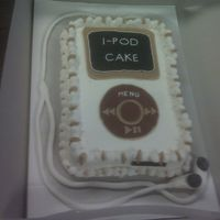 Ipod Cake This was the first cake I've decorated in 15 years and my first time using fondant. I'm now going to practice making fondant...
