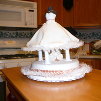 Wedding Dress I made this for a co-worker's wedding shower. I saw this cake on this website and always wanted to make it. I think it turned out very...