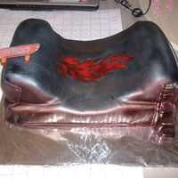 Half Pipe This is a skateboard themed cake for my nephew... again fun cause of my new airbrush!!