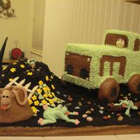Tractor Cake   Birthday cake for my 4 year old Granson