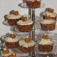 Pumpkin Pie Cupcake Toppers
