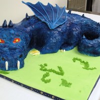 Dragon Cake Dragon Cake, white, chocolate and pumpkin cake. Thanks to Chyana66 and Lollabrickada for your tips!