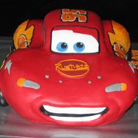 Lightning Mcqueen Carved from 2 9x13s