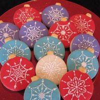 Ornament Cookies
