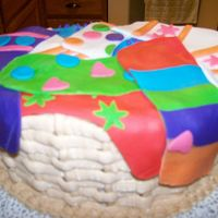 Basket Of Socks This was the strangest request for a cake, for a teenager who loves socks. I made the socks out of fondant, on top of an oval cake with...