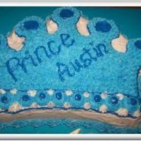 Crown Cake For Prince   My first shot at the crown cake. I didn't think it was bad, but it could hav ebeen alot better. I was given very short notice.