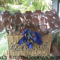 Chocolate Covered Cookie Bouquet