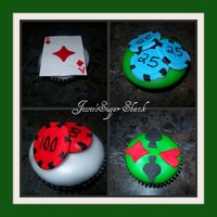 All-In Poker Cupkakes