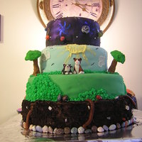 Planet Earth Sweet 16 My daughter wanted a cake themed off of one of her favorite programs: Planet Earth, the Discovery Channel series. It was fun to make, lots...