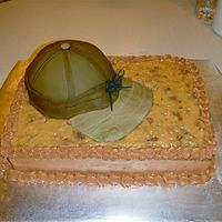 German Chocolate Hat I made this cake for a man I work with that wears the hat that i re-created every day! The cake is German Chocolate because that is his...