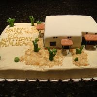 Adobe House  I made this for my boss' girlfriend's 60th birthday party. She has an adobe style house in Tucson. He gave me a couple of...