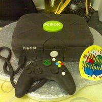 Xbox Cake Xbox cake for a friend at work.
