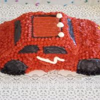 Red Car Cruiser Butter Cream with raspberry filling. Didn't have a small enough air compressor to fill the tires, they are a little flat. Thanks for...
