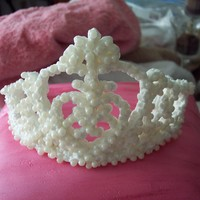 Princess Pillow Cake My first pillow cake, first time using mmf and my first edible tiara! the tiara was not as crisp looking as I would have liked so i added...