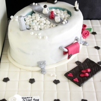 Spa Theme Bubble Bath Cake