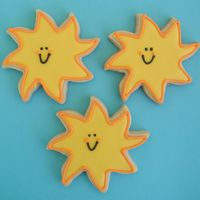 Suns! NFSC w/ Antonia74's RI. My sister-in-law (fellow CC'er Denyse) and I made some beach-themed cookies for a PTO's back-to-...