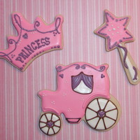 Princess! NFSC w/Antonia74's RI. I bought a set of princess cookie cutters and wanted to try them out. Thanks for looking!