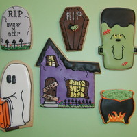 Halloween! NFSC w/ Antonia74's RI. I made these cookies for the Arizona State Fair and was excited to get 1st prize and Best in Show for novelty...