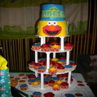 My Little Boys Birthday Cake  I made this cake for my babys 1st birthday. Inspired by Kawaiicakecook and Jacklotz1.Had a hard time with my buttecream ;0( . It was my 1st...