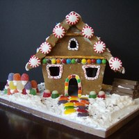 My House   Gingerbread house