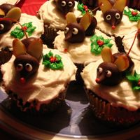 Christmas Mice Cupcakes Just some simple mouse cupcakes. They were a HUGE hit!