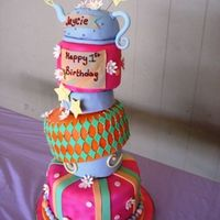 Dani.jpg this was a cake made for a alice in wonderland theme 1st birthday