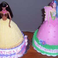 Two Barbie Cakes In One Day!!