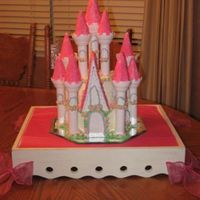 Cinderella's Castle   I made this cake for a special little princess!