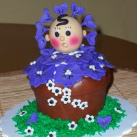 Flower Pot   I make this cupcake in a king size muffin pan for mothers day and i love it.....