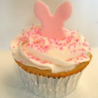 Easter Rabbit Cupcake