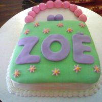 Purse Cake Taken from the Wilton design