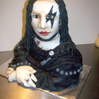 Renaissance Rocks  Mona Lisa never looked so good! A rock 'n roll inspired cake made for the 2010 Threadcakes, 3-D entry. While she didn't win, I...