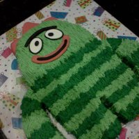 Brobee 1/2 sheet and Smash cake for 1st bday
