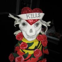 Lovekills   Ed Hardy Love Kills Slowly with skull & bones