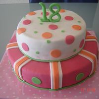 Dsc02326S.jpg   My first stacked cake for my daughter's 18th birthday.