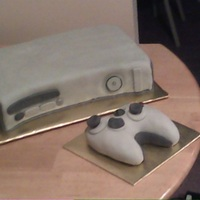 Xbox 360 Cake This is my attempt at an Xbox cake for my boyfriend!!! It's not quite as good as I wanted it, but I had to make and finish it all in a...