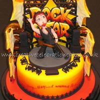 Rockstar   All edible Novelty cake, Won GOLD and 2ND place at 'Cake international' @ NEC 2009