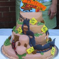 Vacation Bible School Theme Cake  Every year I get to make the VBS theme cake for our church VSB kick off event! This year our VBS is built around an Australian theme. It is...