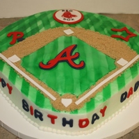 Daddy's Baseball Birthday Cake Mother contacted saying that her boys insisted on getting a birthday cake for their daddy since they were having a small party for him. We...