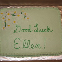 Farewell Cake This cake was for a co-worker in my husband's office who was moving do a different department. Its a margarita cake with key lime...
