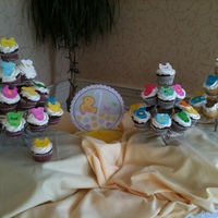 Baby Shower Cupcakes Baby Shower Cupcakes. The baby shower was a clothes line theme - they hung a clothesline and each attendee was to bring an item of clothing...