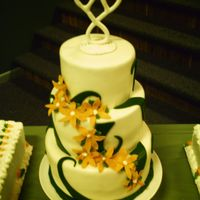 The Green And Orange Wedding