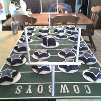 "Niece's ""dallas Cowboys"" Party About 20 individual stars for each kid and adult."